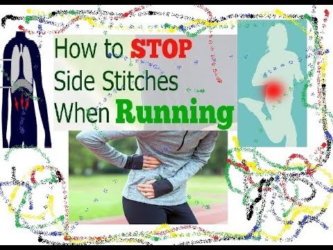 Side Stitch Abdominal Pain: How to run 1600 meters or any run without Side Stitch