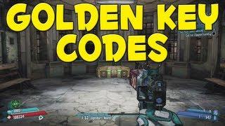 Borderlands 2 - Free Golden Key Codes / Shift Codes (Updated 7/1)