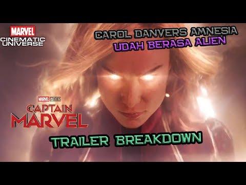 Carol Danvers Amnesia ?? Captain Marvel Trailer Breakdown | Marvel Indonesia