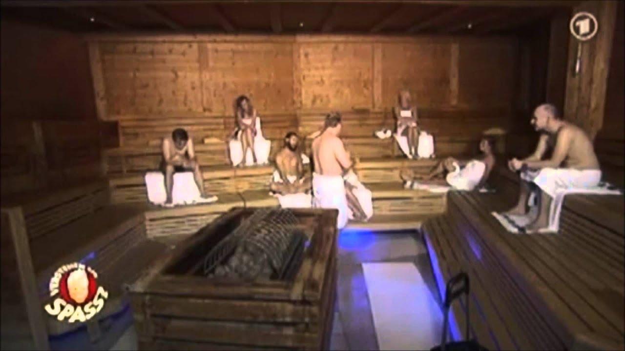 Versteckte kamera sauna