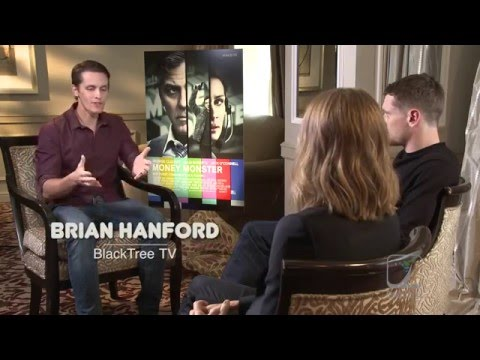 Money Monster Interview w/ Jodie Foster and Jack O'Connell