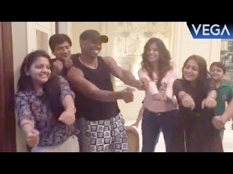 Dwayne Bravo Dance On DJ  Bravo Champion Song ||...