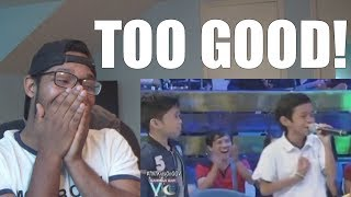 "BATTLE ROUND: Tawag Ng Tanghalan Kids Perform ""Listen"" On GGV REACTION!"