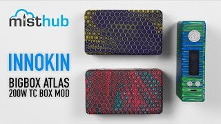 Innokin BigBox Atlas 200W TC Box Mod Video