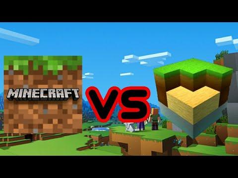 Minecraft Vs Мир кубов-Exploration Lite Craft