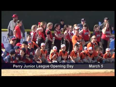 Perry Junior League Opening Day March 5, 2016