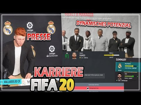 FIFA 20 KARRIEREMODUS NEWS 🔥 | DYNAMISCHES SPIELERPOTENZIAL, SPIELERINTERAKTION & MEDIEN 🙏😍