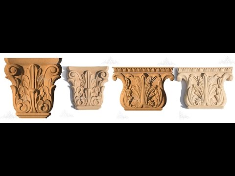 Wood Pulp decoration elements| Designer ideas | Facade and furnishings