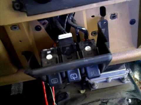 1997 Jeep Wrangler Wiring Diagram Jeep Tj Wiper Switch Replaced Youtube