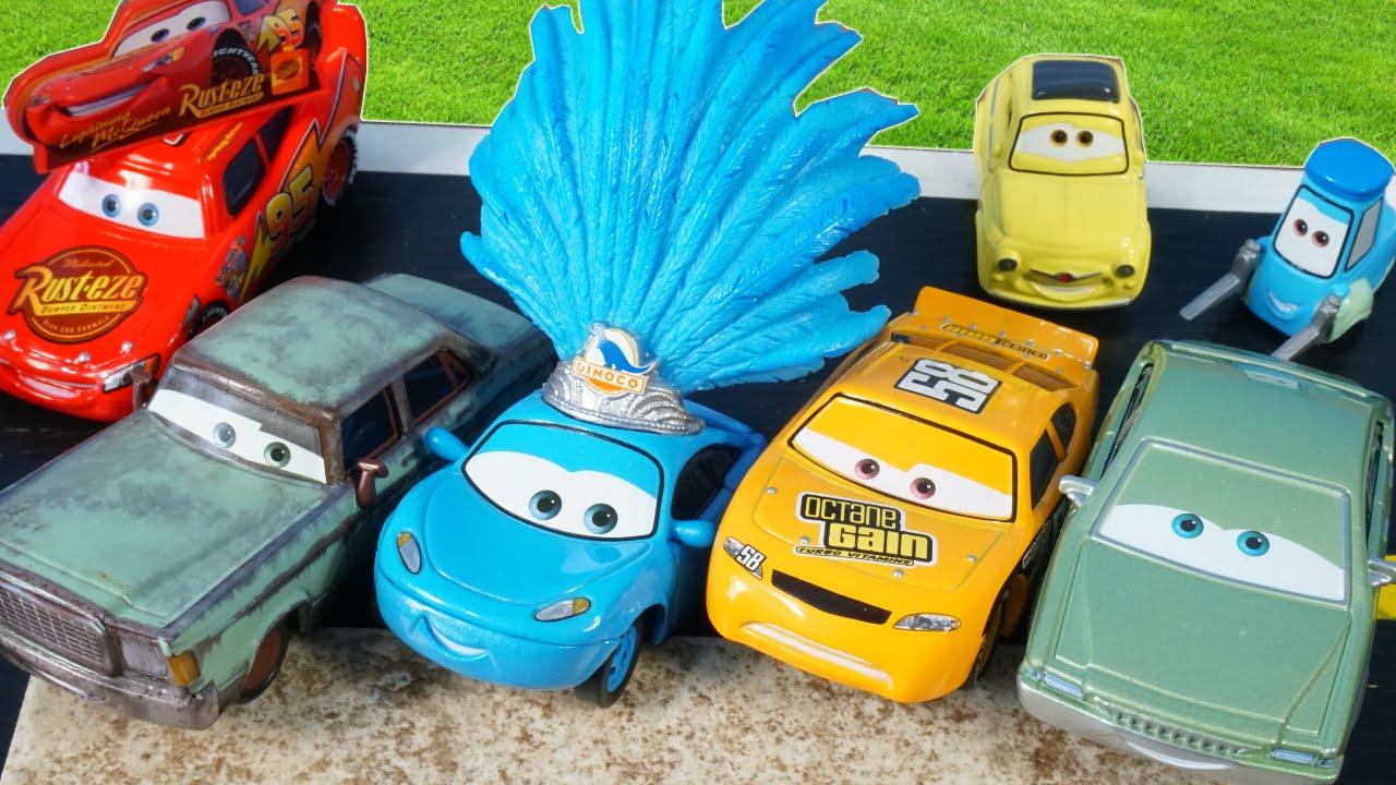 2016 Disney Pixar Cars Dinoco Showgirl Rusteze Patti Octane Gain