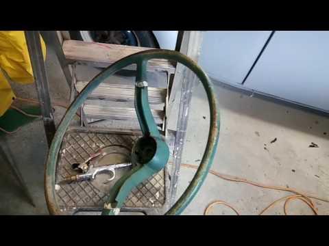 Steering wheel restoration 61 Vw bug