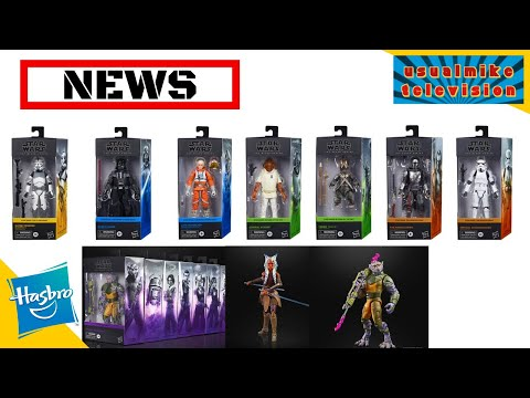 STAR WARS ACTION FIGURE NEWS ALL NEW REVEALS IN THE BLACK SERIES WITH NEW PACKAGING FOR 2020
