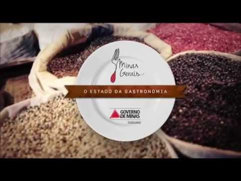 Secretaria de Turismo de MG - Minas Gerais, o Estado da Gastronomia