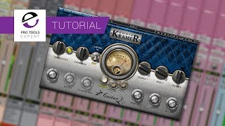 Tutorial - Mixing Electric Guitar Using Waves Kramer Guitars Plug in