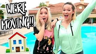 WE'RE MOVING!! + ROOM DECOR HAUL!!