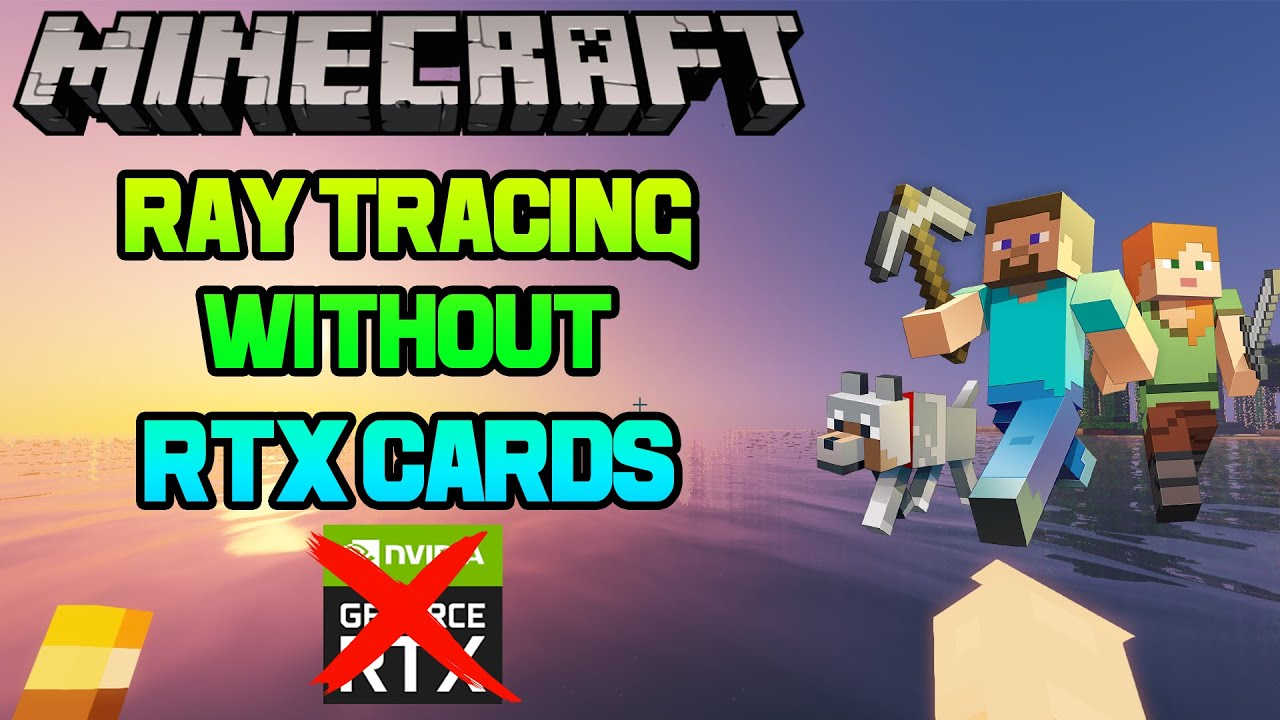 Enable Ray Tracing Without RTX Cards in Minecraft (TLauncher