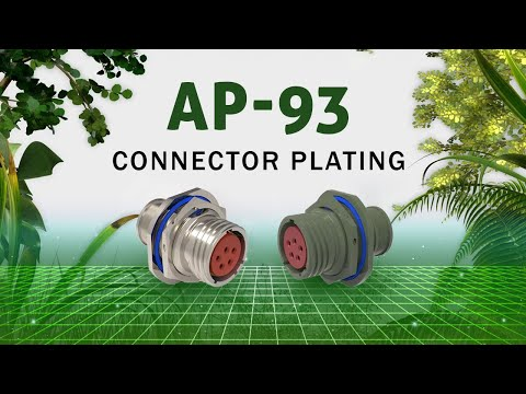 AP-93 Connector Plating  1,000 Hour Alternate to Cadmium