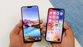 ViVo V9 vs iPhone X Speed Test | Budget Range vs Flagship !