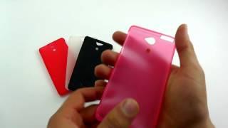 оБЗОР: Силиконовый Чехол Накладка для Sony Xperia XA Dual  (F3111/ F3112/ F3113/ F3115)