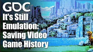 It's Still Emulation: Saving Video Game History Before It's Too Late