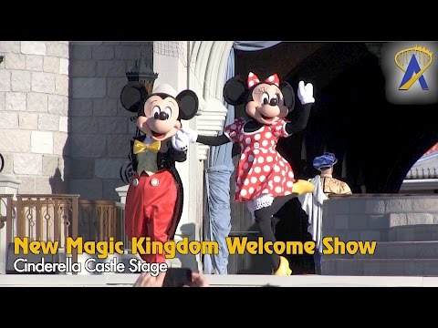 Let The Magic Begin - New Magic Kingdom Welcome Show 2017