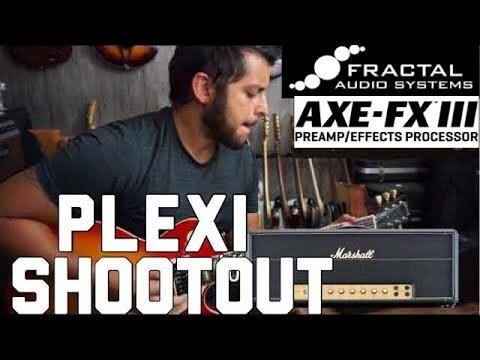 Axe FX III Marshall Plexi Shootout