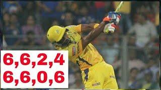 Mumbai vs chennai last 3 overs match highlight ...