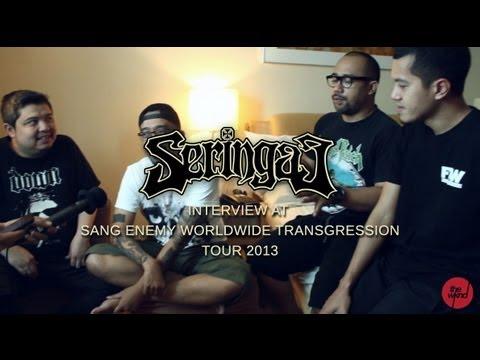 Seringai - Interview (Sang Enemy Worldwide Transgression Tour 2013, Kuala Lumpur)