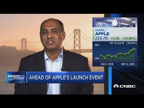 Apples stock is reflecting value investors and investors who realize its a different story, says a