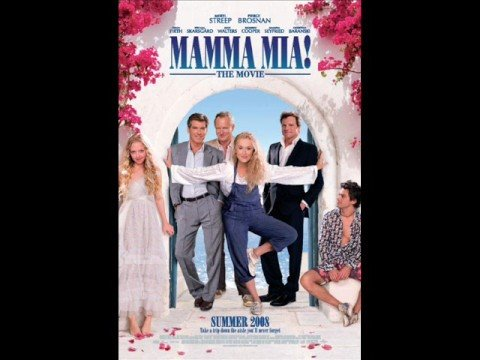 Take a chance on me - Mamma Mia the movie (lyrics)