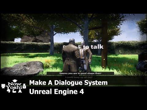 Tutorial - NPC Dialog Widget blueprint - Unreal engine 4