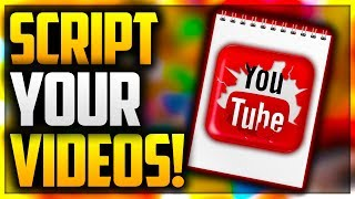 🗒HOW TO MAKE A SCRIPT FOR YOUTUBE TO IMPROVE YOUR COMMENTARIES! COMMENTATE LIKE A PRO WITH SCRIPTS!