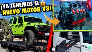 COMIENZA EL SWAP V8 PARA MI JEEP *CAMBIO DE MOTOR* | ManuelRivera11