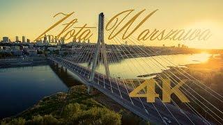 Złota Warszawa - timelapse 4K