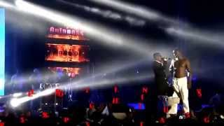 Akon Ft. Wizkid - Roll It Remix Full Performance Live in Ghana