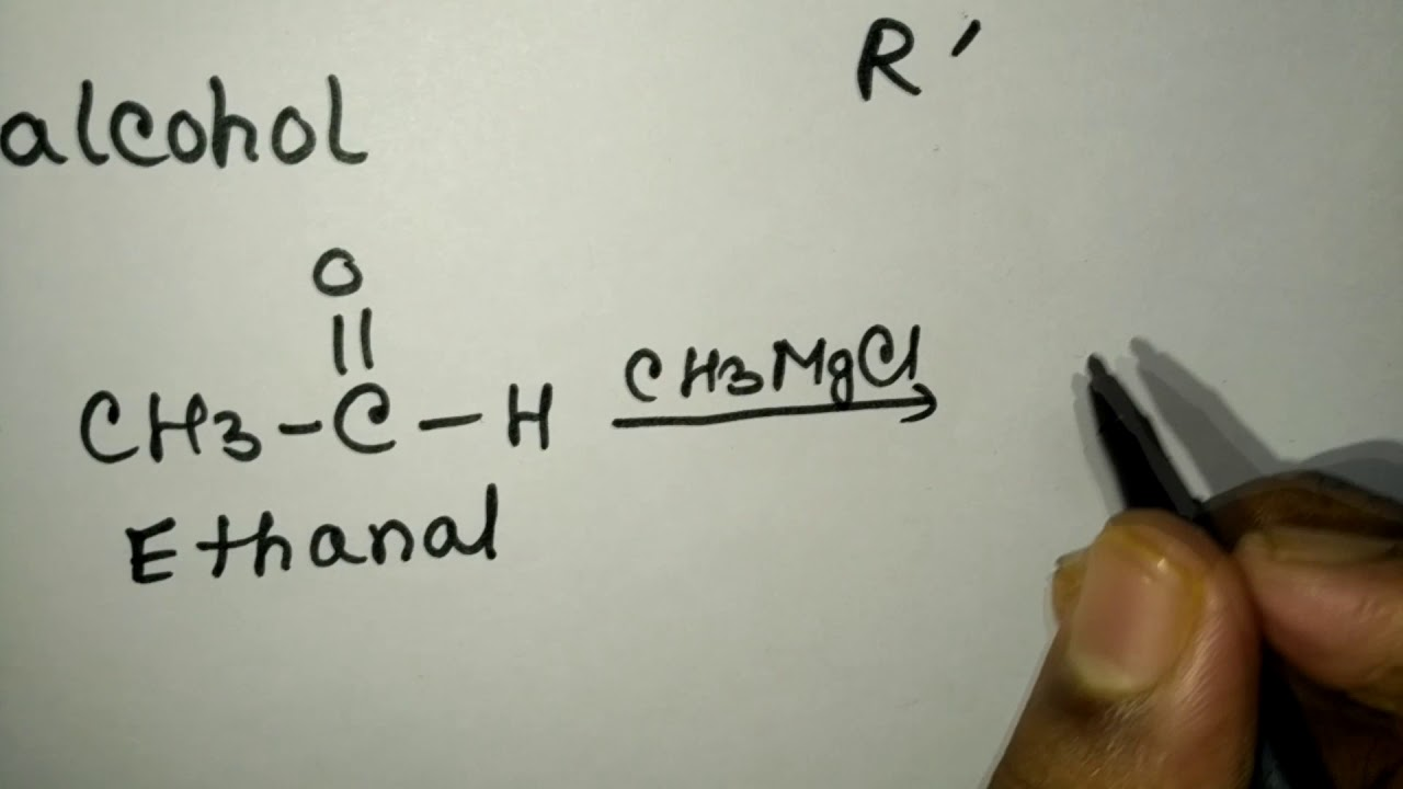 Preparation of alcohol using Grignard reagent(with example)