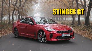 KIA STINGER: El coche que NO VAS A COMPRAR pero que NO TE IMPORTARÍA TENER