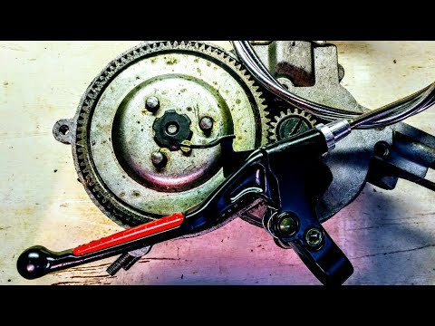 Motorized Bikes 101: Clutch adjustment/reset 2 stroke 80cc 66cc 48cc Motor Bicycle Maintenance