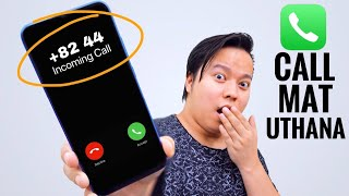 +8244 , +301 Phone Number Se Call Mat Uthana ?? 😨😨 #TechGyan EP5