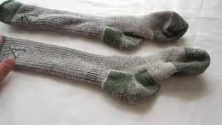 Browning Merino Wool Boot Socks review. Comfortable warm socks