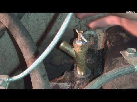 Замена крана отопителя на УАЗ-31519