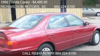 1998 Toyota Camry LE - for sale in ANDERSON, SC 29624