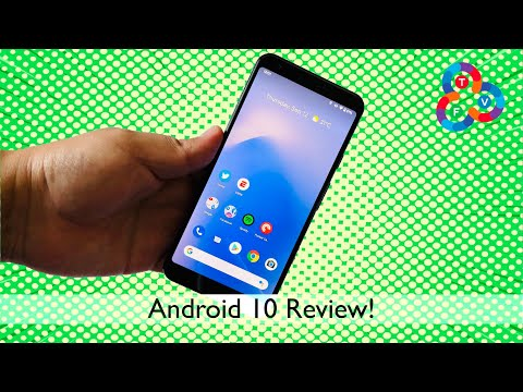 Android 10 Review (on Pixel 3a XL) - Favorite Features!