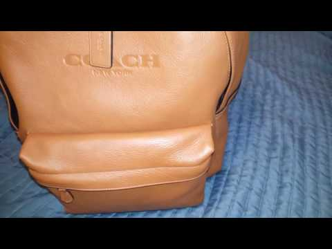 Coach backpack purse wallet review