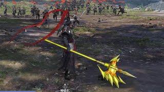 無雙OROCHI 蛇魔3 Ultimate 黃金戰神方天戟Mod 呂布特典武器 (Lu Bu Golden Halberd Special Weapon Mod)