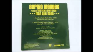 Sergio Mendes & Black Eyed Peas - Mas Que Nada (uk Promo Cd)