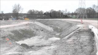 A4 Rotonde Oude Molen nadert voltooing