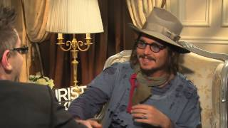 Johnny Depp interview - Edward Scissorhands, Fear and Loathing, The Tourist, Donnie Brasco