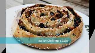 British Italian Christmas Cake