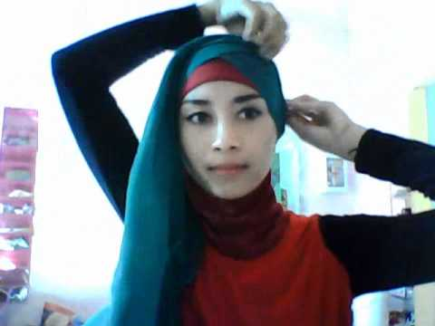 HIJAB TUTORIAL SEGI EMPAT 02 BY C-ka ^,^.wmv